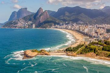 Private Rio de Janeiro Stadtrundfahrt mit Transfer zum Flughafen