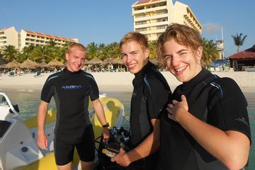 Mergulho certificado em Aruba