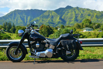 Guided Motorcycle Tour of Kauai