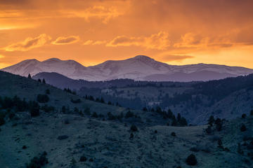 3-Hour Sunset Hiking Tour from Denver