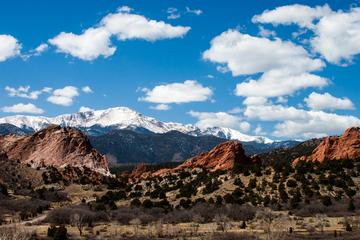 Day Trip Private Tour to Pikes Peak Garden of Gods near Denver, Colorado