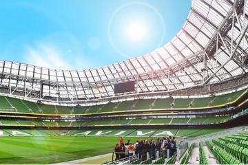 Visite guidée du stade Aviva à Dublin