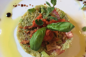Lezione privata di cucina vegetariana