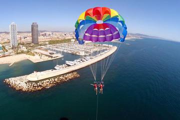 Expérience en parachute ascensionnel à Barcelone