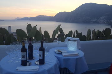 Enjoy the Amalfi coast Wine Tasting experience at the Sunset  plus Ravello visit