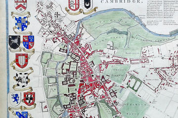 Chauffierte Kahntour in Cambridge