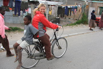 Visite privée: visite des townships du Cap en vélo