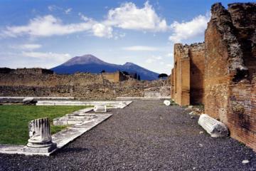 Excursão ao Monte Vesúvio e Pompeia...