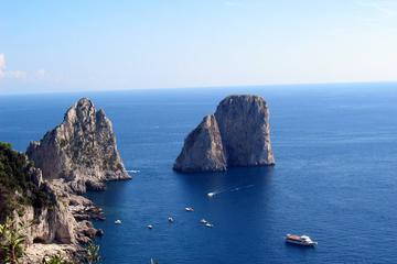 Visite guidée de Capri et d'Anacapri au départ de Sorrente