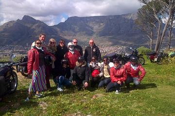 Visite touristique de la ville du Cap en moto side-car