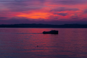 Bootstour auf dem Gardasee bei...