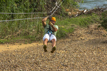 Altun Ha and Zipline Tour from Belize