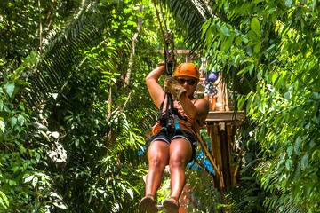 Cave Tubing and Zip line Adventure from Placencia