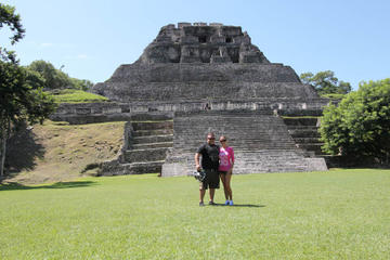 Xunantunich Mayan Ruin from Belize...