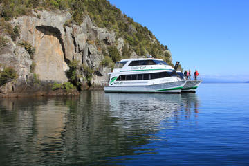Maori Rock Carving Cruise from Taupo
