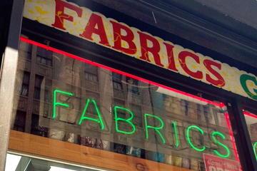 Recorrido por las tiendas de telas y adornos privado en Nueva York