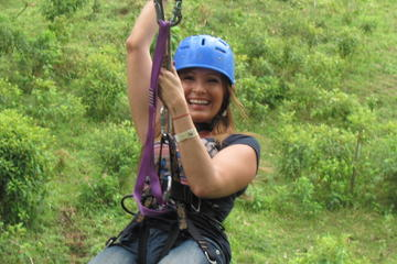 Zipline, Tarzan Swing, and Blue River Adventure from Liberia
