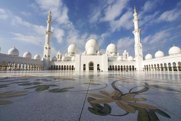 Tour della città di Abu Dhabi da Dubai con pranzo all'Emirates Palace
