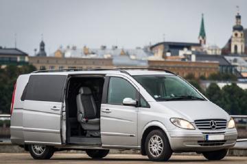 Private Minivan Transfer from Jelgava to Riga or Riga Jelgava