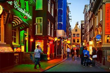 Private Red Light District and Food Tour in Amsterdam