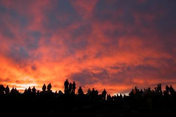 Fietstocht naar Maui Haleakala bij zonsopgang