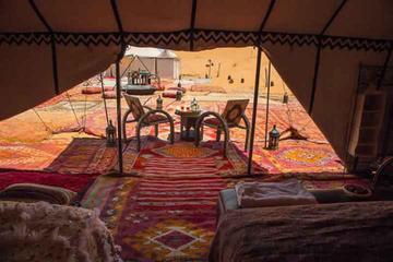 Excursion privée de 3nuits aller-retour dans le désert du Sahara...