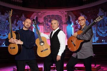 バルセロナのカタルーニャ音楽堂でのスペインギタ…