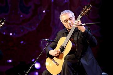 Concerto de violão espanhol na Basílica de Santa Maria del Pi em...