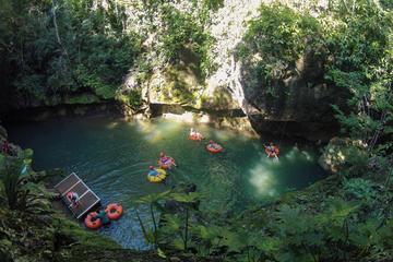 Aventura de tubing en cuevas personalizada