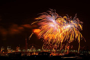 Montreal Fireworks Festival from New...
