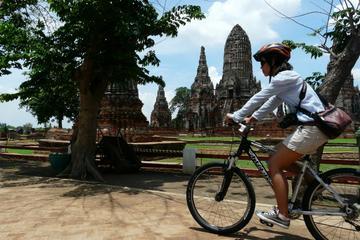 De Bangkok a Ayutthaya en bicicleta...