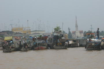 Excursion d'une journée complète au marché flottant de Cai Be, au...