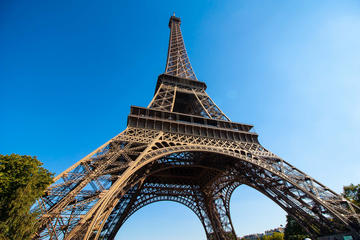 Spring over køen-billet: Tur i Eiffeltårnet inklusiv adgang til toppen