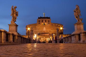Fahrradtour durch Rom bei Nacht