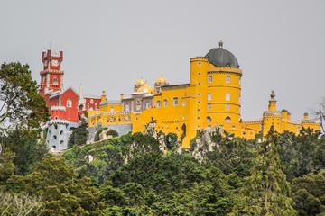Vistas românticas de Sintra e Excursão ao parque natural