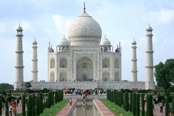 Excursion d'une journée complète au Taj Mahal, au Fort rouge, et à...