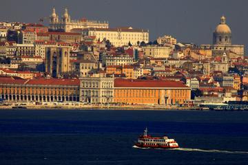Excursão a pé no centro de Lisboa