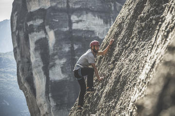Rock Climbing in Meteora