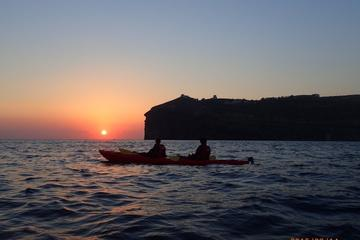 Santorini Sunset Sea Kayak Experience