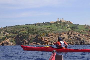 Small-Group Half-Day Athens Sea Kayak Tour with Lunch