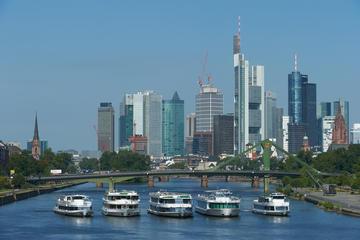 Frankfurt: 100-minütige Besichtigungs-Bootsfahrt