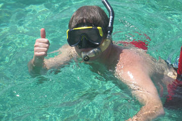 Mergulho com snorkel e aventura em piscina natural em Punta Cana