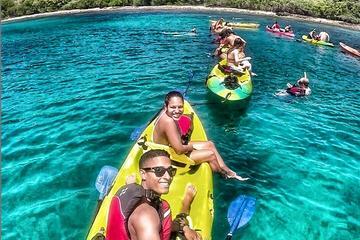 Aventura en kayak y buceo de superficie en Culebra desde Fajardo