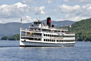 Day Trip Lac du Saint Sacrement Islands Cruise near Lake George, New York