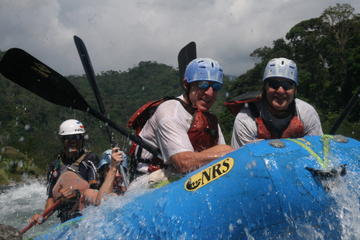 White Water Rafting on the Way to Arenal from San Jose