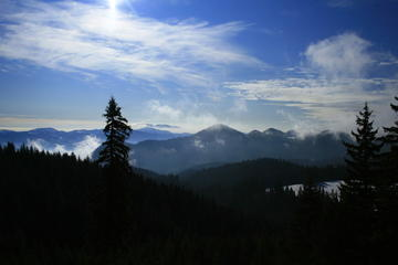 Hiking in Cindrel Mountains- on the...