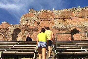 Excursão a pé de Taormina e...