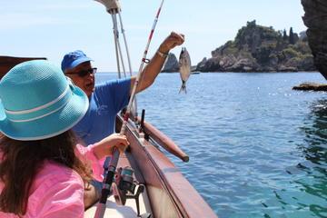 Excursion de pêche à Isola Bella au départ de Taormine