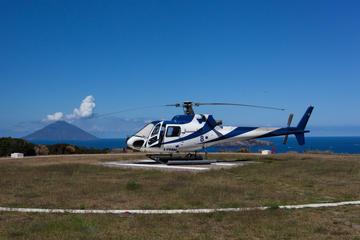Helikoptertour naar de Etna, Taormina en Eolische eilanden