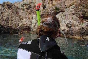 Mergulho em Isola Bella saindo de Taormina